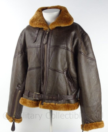 RAF WWII Sheepskin Flying Jacket, brown