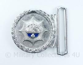 Korps Rijkspolitie koppelslot - 7 x 5,5 cm - origineel