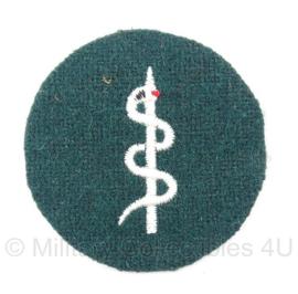 WO2 Duits M36 Rode kruis /  Sanitäter embleem esculaap