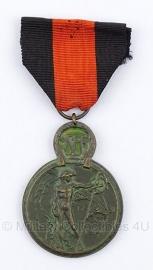 Belgische ereteken Yserenmedaille - Origineel