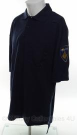 Nederlandse Politie polo - nieuw in verpakking - korte mouw - blauw - maat 2300 - origineel