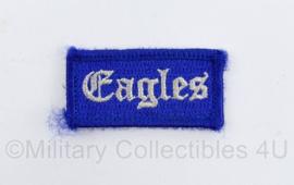 Klu Luchtmacht Eagles embleem - onbekend embleem - met klittenband -  5 x 3 cm - origineel