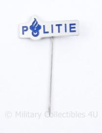 Politie reversspeld - 5 x 3 cm - origineel