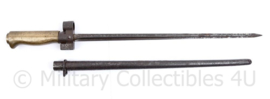 French M1886/93 Lebel - Mannlicher Berthier bajonet - 48 cm lang - origineel