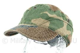 Korps Mariniers forest woodland camo pet -  56 cm. hoofdomtrek - origineel