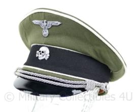 Waffen SS Infanterie(witte bies)  schirmmütze gabardine - semi crusher -  maat 57 tm. 60