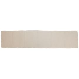 Leger sjaal creme wit - nieuw in de verpakking  - origineel