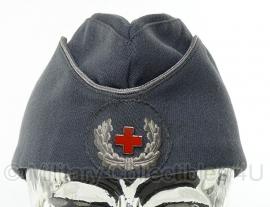 Origineel officiers schuitje van het Duitse Rode Kruis - grijs - maat 56 of 57 - origineel