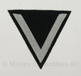 M36 chevron gefreiter rang - donkergroen met zilver