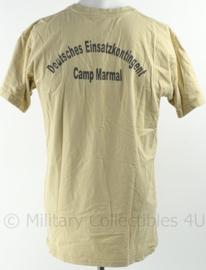 Duitse Bundeswehr shirt Deutsches Einsatzkontingent Camp Marmal - gedragen - maat M - origineel