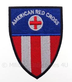 "US ""American red cross"" embleem - afmeting 6 x 9 cm - replica WO2"
