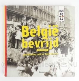 """Boek """"Belgie bevrijd Dirk Musschoot - origineel"""