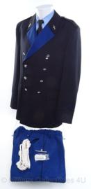KMAR Koninklijke Marechaussee DT uniform nieuw - met nestel en stropdas - maat 55 - origineel