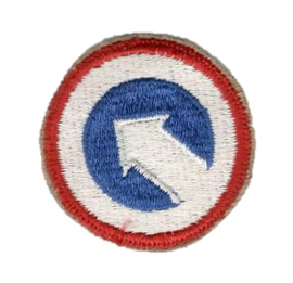 WO2 US Army 1st Logistical Command patch cut edge - 5 cm diameter - origineel