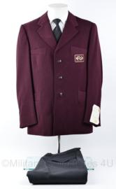 NS Nederlandse Spoorwegen uniform set jas met broek van Machinist - ongedragen - maat 54 -  van 1 persoon - origineel