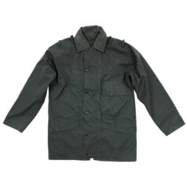 Britse Politie groene regen- en wind bestendige jas regenjas Anorak Windproof Police  - medium of Large regular- origineel
