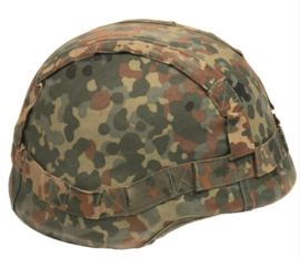 Bundeswehr flecktarn en WIT helm overtrek - omkeerbaar - nu in meerdere maten - origineel