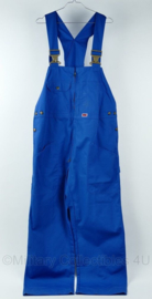 Jobman Workwear werkbroek bretelbroek blauw jeans - maat 50 - origineel