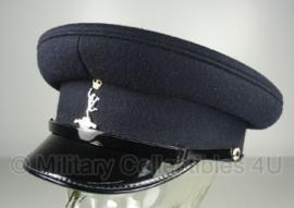 Britse Signals visor cap met insigne - maat 54 tm. 58 -  origineel