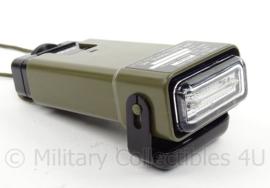 KL Landmacht en US Army Light marker distress ACR MS 2000M Strobe marker light - gebruikt, maar werkend - origineel