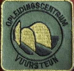 KL Nederlandse leger eenheid borstembleem Opleidingscentrum Vuursteun - origineel