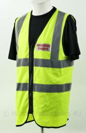 Britse Marching Troops vest fluor geel - maat L - origineel