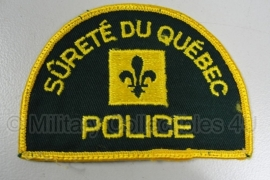 Surete du Quebec Police patch - origineel