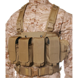 Blackhawk Commando Chest Harness - Coyote Tan - NIEUW