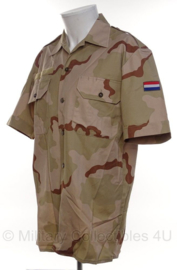 KL Nederlandse leger desert camo overhemd korte mouw - ongedragen - maat 6080/9500 - origineel