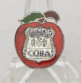 City of New York Correction Coba insigne metaal