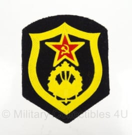Russische USSR Combat Engineering  arm embleem - 8,5 x 6,5 cm - origineel