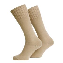 Leger sokken voor gevechtslaarzen - KHAKI 70% wol - nieuw gemaakt