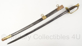 US Army sabel met schede - W.H. Horstmann & SON Philadelphia - 92,5 cm - origineel