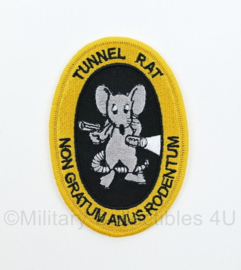 "US Army Vietnam Tunnel Rat Non Gratum Anus Rodentum ""Not Worth a Rat's Ass patch"" - 9 x 6 cm"