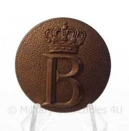 Onbekend metalen onderdeel met Beatrix B initiaal - doorsnede 4 cm - origineel