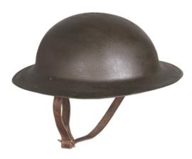 US Army helm Model M17 1917 model tot 1940 - replica