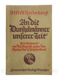 WO2 Duits An die Dunkelmänner unserer Zeit boek - maart 1935 - origineel