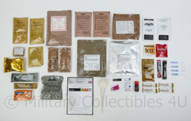 British 24 hour Operational Ration Pack Britse rantsoen zak 24 uur - Keuze uit meerdere menu's !