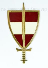 Oostenrijkse Landesverteidigung Academie badge - 11 x 6 cm - origineel