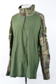 Korps Mariniers UBAC shirt Woodland - maat Large - gedragen - origineel