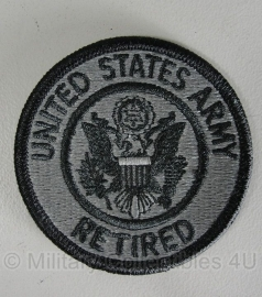 UNITED STATES ARMY Retired patch - origineel
