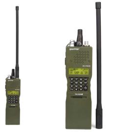 HAPPIS PRC-152 DUMMY radio met ontkoppelbare antenne - Groen
