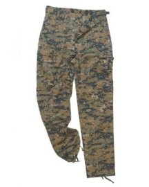US FIELD TROUSER BDU - USMC Marpat Digital Woodland - Small op voorraad.