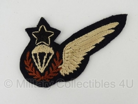 Brits Royal Air Force embleem - Parachute Jump Instructor  - origineel wo2