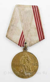 Russische USSR Herinneringsmedaille 1945-1965 overwinning op Duitsland - 32 MM - origineel