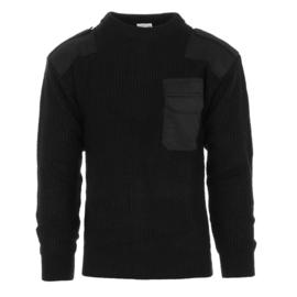 Commando trui ZWART  - nieuw gemaakt
