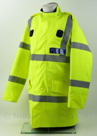 Britse Politie Police geel jack met portofoonhouders - maat L - origineel