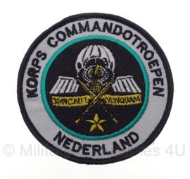 KL Korps Commandotroepen embleem - met klittenband - 9 x 9 cm