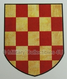 Kroatische-Freiwilligen-Division 369e regiment decal - cv-008