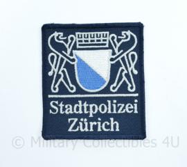 Zwitserse Stadtpolizei Zurich embleem  - 8,5 x 7,5 cm - origineel
